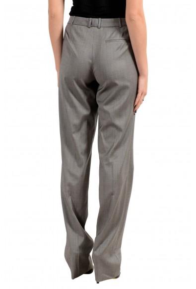 "Hugo Boss ""Tamea8"" Women's 100% Wool Gray Casual Pants : Picture 2"