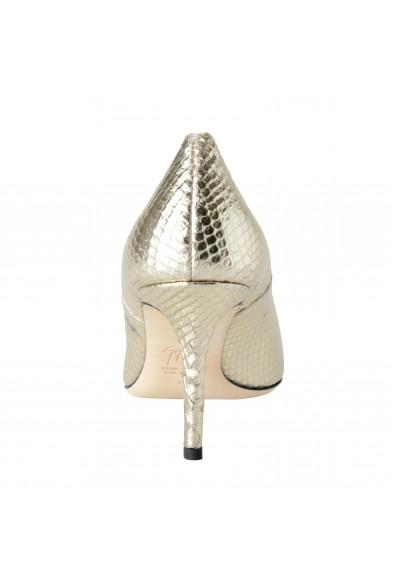Giuseppe Zanotti Design Women's Python Skin Silver High Heels Pumps Shoes: Picture 2