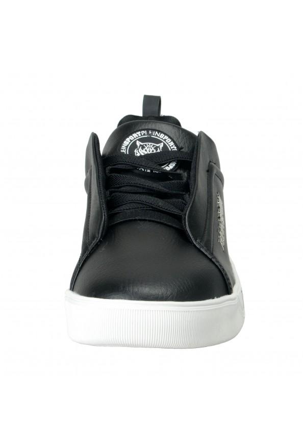 "Plein Sport ""John"" Black Slip On Fashion Sneakers Shoes : Picture 5"