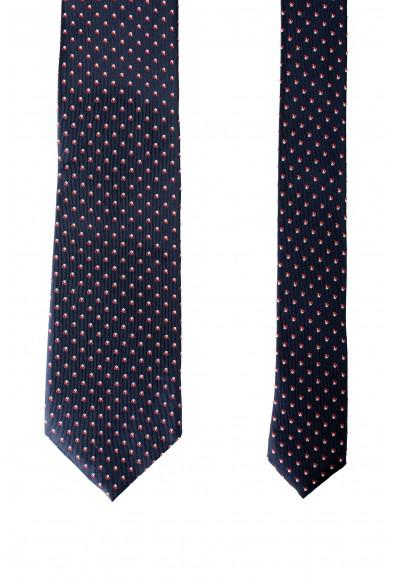 Hugo Boss Men's Multi-Color Geometric Print 100% Silk Tie: Picture 2
