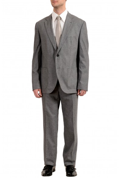 """Hugo Boss """"Jalston/Lenon1"""" Men's Wool Cashmere Two Button Suit"""