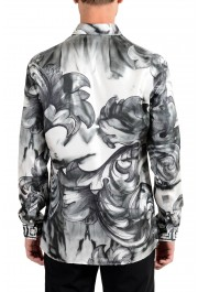 """Versace Collection """"Trend"""" Men's 100% Silk Graphic Long Sleeve Dress Shirt: Picture 6"""