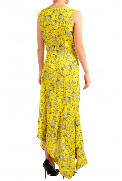 "Hugo Boss Women's ""Kilami"" Multi-Color Maxi Sleeveless Sundress Dress: Picture 2"