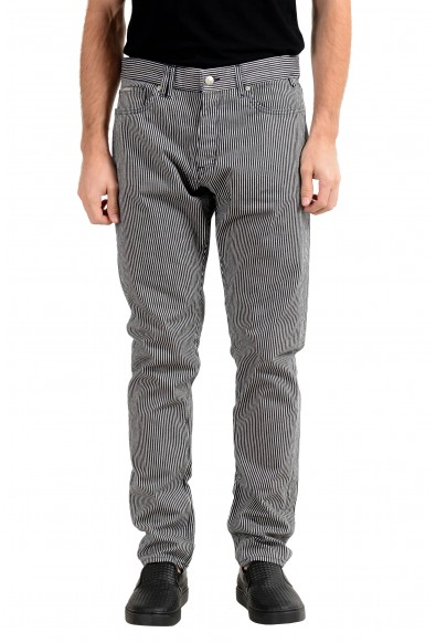 "Hugo Boss ""Atlantic1"" Men's Striped Relaxed Fit Casual Pants"