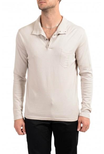 Malo Men's Cashmere Beige Sweater
