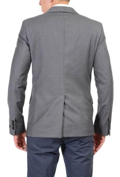 Prada 100% Wool Gray Two Buttons Men's Blazer: Picture 2