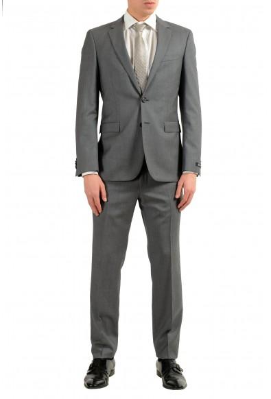 "Hugo Boss ""Inwood2/Winfield2"" Men's 100% Wool Gray Two Button Suit"