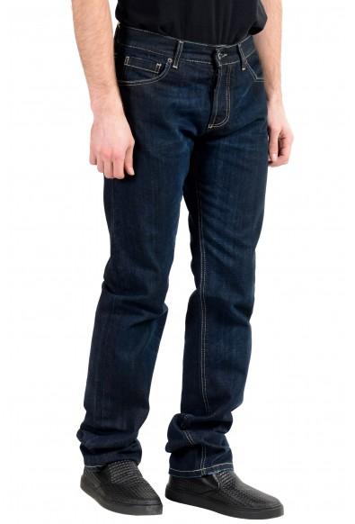 Exte Men's Dark Blue Straight Leg Jeans: Picture 2
