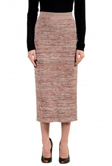 """Hugo Boss Women's """"Fovana"""" Knitted Straight Pencil Skirt"""