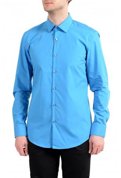 "Hugo Boss ""C-Jenno"" Men's Slim Blue Long Sleeve Dress Shirt"