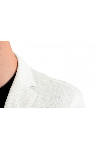 John Varvatos Men's Linen Knitted Two Button Blazer Sport Coat : Picture 2