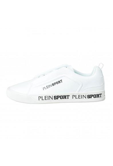 "Plein Sport ""John"" White Slip On Fashion Sneakers Shoes: Picture 2"