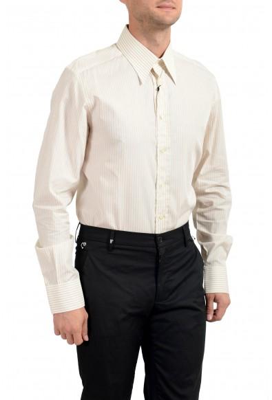 Dolce&Gabbana Men's Striped Slim Long Sleeve Dress Shirt: Picture 2
