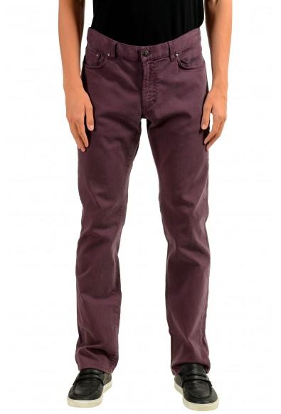 "Versace Collection ""Trend"" Men's Purple Straight Leg Classic Jeans"