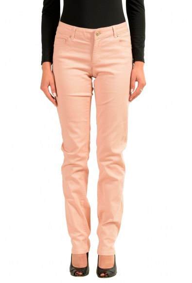 Versace Jeans Sparkling Pink Women's Skinny Jeans