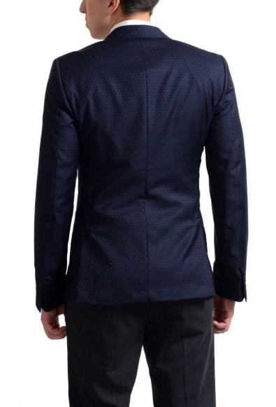 Prada Men's Navy Blue Printed 100% Wool Sport Coat Blazer : Picture 2