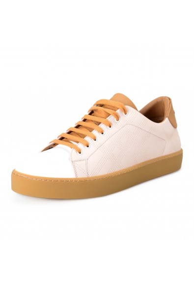 """Burberry Men's """"WESTFORD"""" Leather Fashion Sneakers Shoes"""