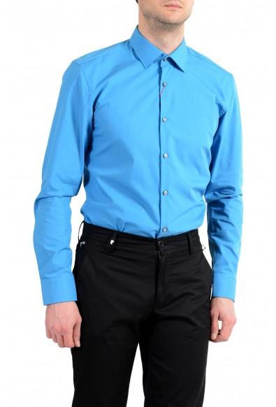 "Hugo Boss ""C-Jenno"" Men's Slim Blue Long Sleeve Dress Shirt: Picture 2"