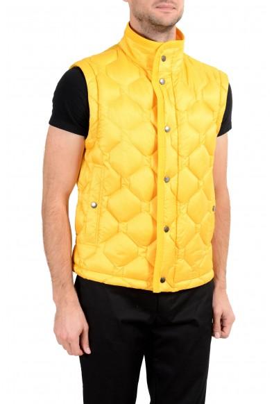 """Hugo Boss """"Donair1"""" Men's Duck Down Yellow Full Zip Vest : Picture 2"""