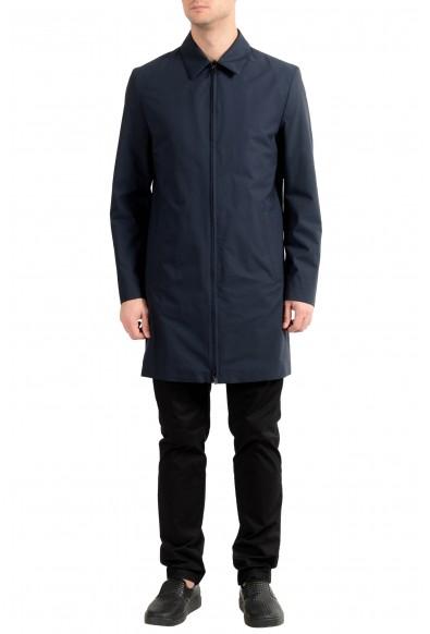 "Hugo Boss ""Morgan1841"" Men's Navy Blue Full Zip Coat"