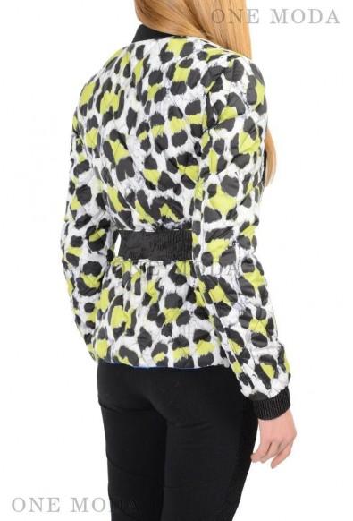 Just Cavalli Multi Color Full Zip Reversible Duck Down Women's Jacket: Picture 2