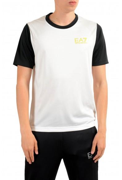 "Emporio Armani EA7 ""Train Squash"" Men's White Active T-Shirt"
