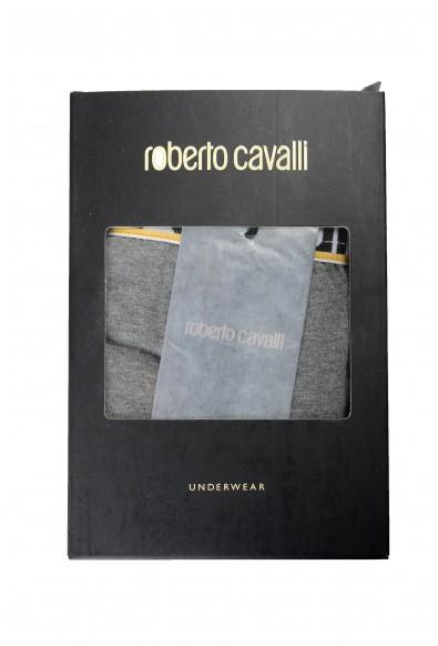 Roberto Cavalli Men's Gray Boxer Underwear Pack Of Two: Picture 2