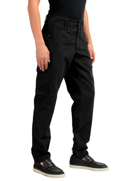 Dolce & Gabbana Men's Black Cargo Pants: Picture 2