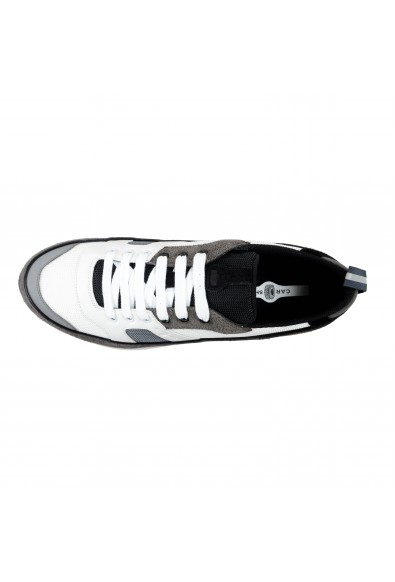 Car Shoe By Prada Men's Gray Suede Leather Fashion Sneakers Shoes: Picture 2