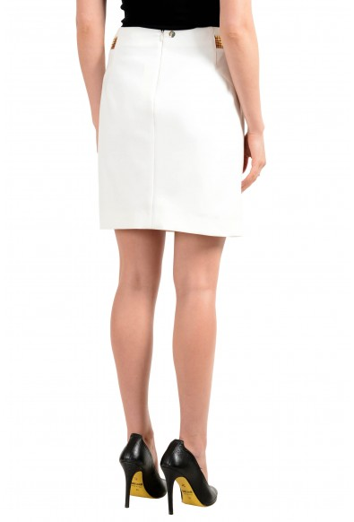 Versace Collection Women's Ivory A-Line Skirt: Picture 2