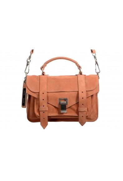 Proenza Schouler Women's Peach Suede Leather Handbag Shoulder Bag: Picture 2