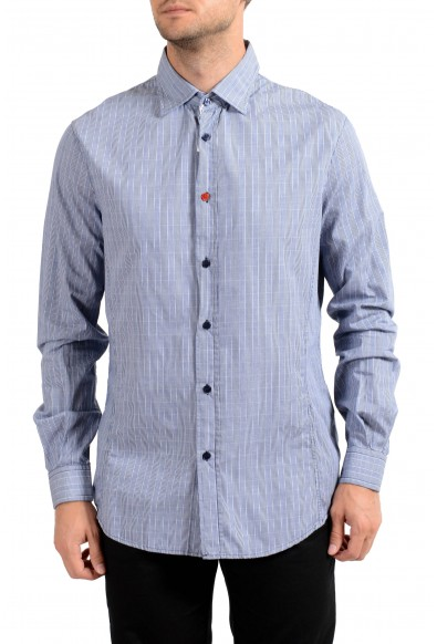 Armani Jeans AJ Men's Long Sleeve Casual Shirt