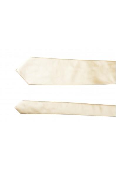 Hugo Boss Men's Beige 100% Silk Tie: Picture 2