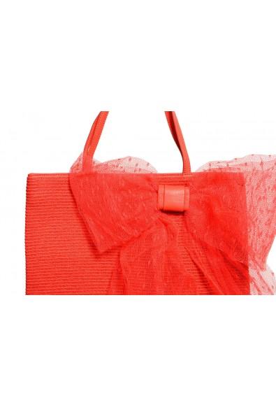 Red Valentino Women's Coral Pink Tote Handbag Shoulder Bag: Picture 2