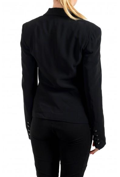 John Galliano Women's Black Two Button Blazer Jacket : Picture 2
