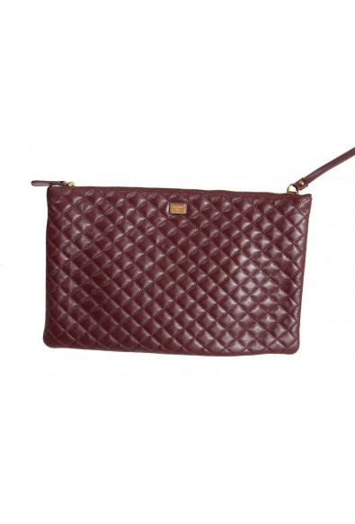 Dolce & Gabbana 100% Leather Brown Women's Clutch Bag: Picture 2
