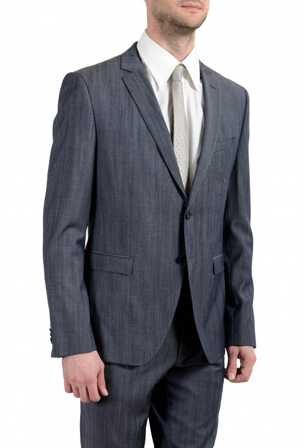 "Hugo Boss ""Reymond/Wenten"" Men's 100% Wool Two Button Suit: Picture 7"