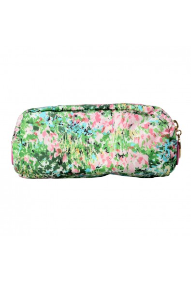 Red Valentino Women's Multi-Color Canvas Floral Print Cosmetic Bag: Picture 2