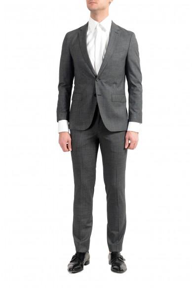 """Hugo Boss """"Novan6/Ben2"""" Men's 100% Wool Gray Slim Two Button Suit"""