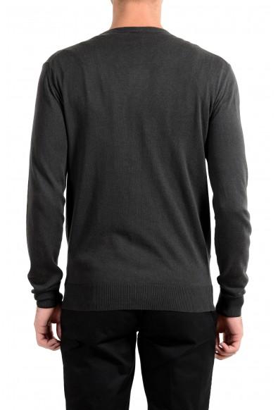 Roberto Cavalli Men's Cashmere Dark Gray Cardigan Sweater: Picture 2