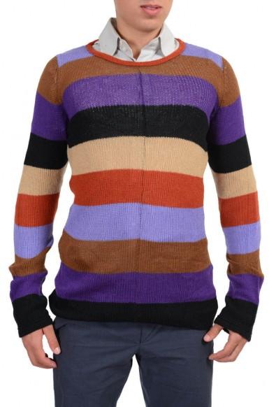 "Prada ""Ruggine"" Men's Multi-Color 100% Cashmere Sweater"