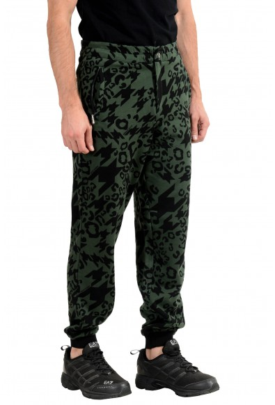 Versace Jeans Men's Graphic Fleece Track Sweat Pants: Picture 2