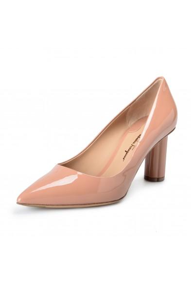 Salvatore Ferragamo Women's BADIA 70 Patent Leather High Heel Pumps Shoes