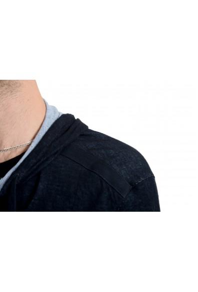 John Varvatos Star USA Men's Navy Blue Full Zip Hoodie : Picture 2
