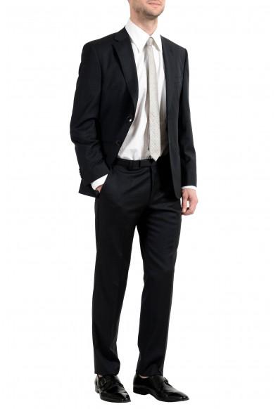 "Hugo Boss ""Johnstons5/Lenon1"" Men's 100% Wool Dark Gray Two Button Suit: Picture 2"