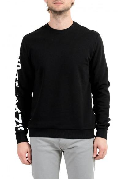 Versace Jeans Men's Black Logo Sweatshirt