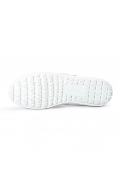 """Salvatore Ferragamo Women's """"FASANO"""" Silver Leather Fashion Sneakers Shoes: Picture 2"""