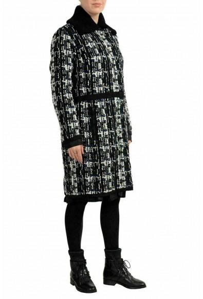 """Moncler Women's """"JULIETE"""" Plaid Wool Down Coat: Picture 2"""