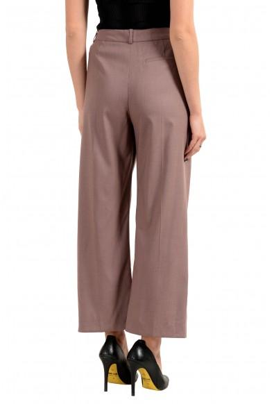 "Hugo Boss ""Terimana2"" Women's 100% Wool Pleated Casual Pants : Picture 2"