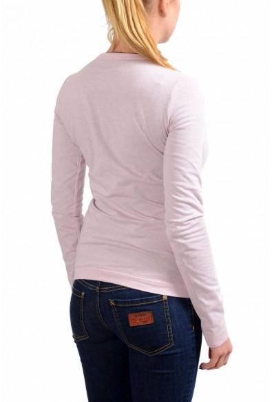 Dolce & Gabbana Womens Purple/Pink Long Sleeve Reversible T-Shirt: Picture 2
